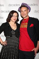 Jennifer Tilly, Cameron Silver<br /> at the Decades: Les Must De Moschino Event, Decades Boutique, Los Angeles, CA 03-20-14<br /> David Edwards/DailyCeleb.com 818-249-4998