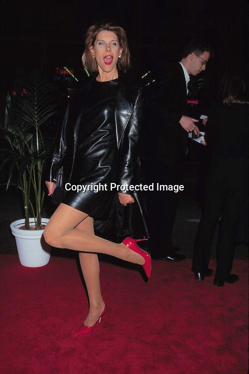 """©KATHY HUTCHINS/HUTCHINS.12/14/97 """" TITANIC """" PREMIERE.CHRISTINE BARANSKI"""