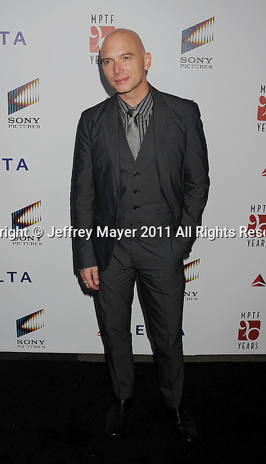 "CULVER CITY, CA - OCTOBER 15: Michael Cerveris attends the The 6th Annual ""A Fine Romance"" Event at Sony Pictures Studios on October 15, 2011 in Culver City, California."