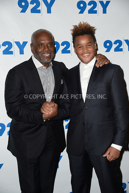 WWW.ACEPIXS.COM<br /> February 2, 2016 New York City<br /> <br /> L. A. Reid and Aaron Reid attending the L. A. Reid in conversation with Gayle King and special guest Meghan Trainor event at 92Y on February 2, 2016 in New York City.<br /> <br /> Credit: Kristin Callahan/ACE Pictures<br /> Tel: (646) 769 0430<br /> e-mail: info@acepixs.com<br /> web: http://www.acepixs.com