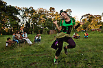 """Larisanuncaesinfin"" guerilla circus performing in Guarani villages near San Ignacio, Misiones, Argentina."