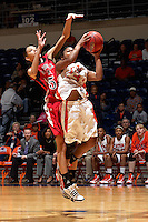 SAN ANTONIO , TX - NOVEMBER 28, 2009: The Jacksonville State University Gamecocks vs. The University of Texas At San Antonio Roadrunners Women's Basketball at the UTSA Convocation Center. (Photo by Jeff Huehn)
