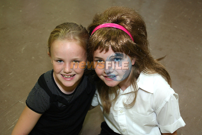Vicky Mallon and Dayna Reynolds at the Summer Drama and Dance Performance in Marymount School...Photo NEWSFILE/Jenny Matthews.(Photo credit should read Jenny Matthews/NEWSFILE)....This Picture has been sent you under the condtions enclosed by:.Newsfile Ltd..The Studio,.Millmount Abbey,.Drogheda,.Co Meath..Ireland..Tel: +353(0)41-9871240.Fax: +353(0)41-9871260.GSM: +353(0)86-2500958.email: pictures@newsfile.ie.www.newsfile.ie.FTP: 193.120.102.198.