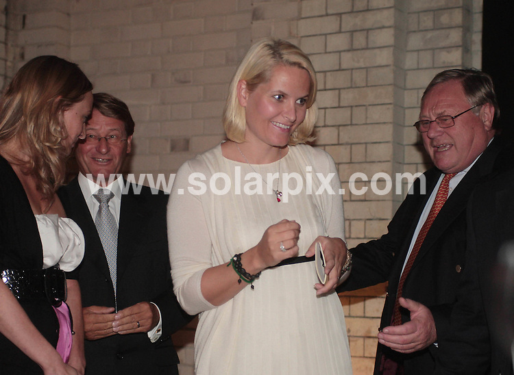 **ALL ROUND PICTURES FROM SOLARPIX.COM**.**NO UK NEWSPAPER PUBLICATION **UK MAGAZINE & SUPPLEMENT PUBLICATION ONLY** AND NO PUBLICATION IN FRANCE, SCANDINAVIA, AUSTRALIA AND GERMANY** .The Crown Princess Mette-Marit of Norway opened the Designersblock exhibition  (part of the London Design Festival) at No.1 The Piazza in Covent Garden central London this evening. London, UK. 17th September 2008..JOB REF: 7389 SFE       DATE: 17_09_2008.**MUST CREDIT SOLARPIX.COM OR DOUBLE FEE WILL BE CHARGED* *UNDER NO CIRCUMSTANCES IS THIS IMAGE TO BE REPRODUCED FOR ANY ONLINE EDITION WITHOUT PRIOR PERMISSION*