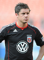 DC United defender Devon McTavish (18)   DC United defeated Real Salt Lake 2-1 to advance to the round of 16 of the  U.S. Open Cup at RFK Stadium, Wednesday  June 2  2010.