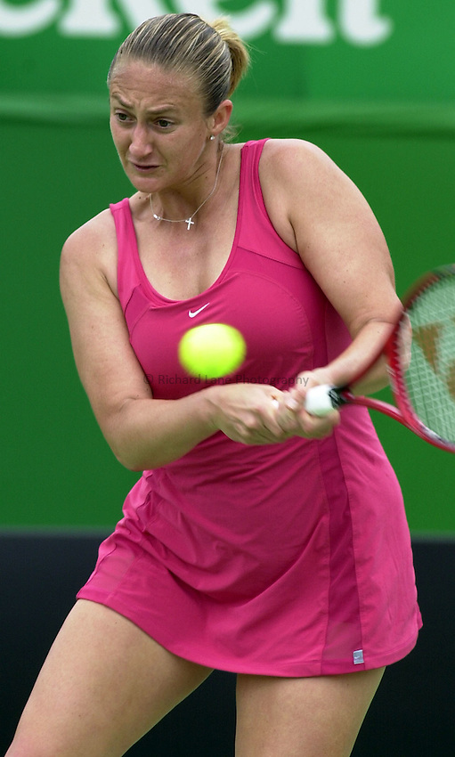 Australian Open Tennis 2003.13/01/2003.Mary Pierce of France in first round match against Patrica Wartusch of Austria