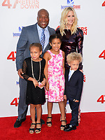 Byron Allen &amp; Jennifer Lucas &amp; Olivia Allen &amp; Chloe Allen &amp; Lucas Allen at the Los Angeles premiere for &quot;47 Meters Down&quot; at the Regency Village Theatre, Westwood. <br /> Los Angeles, USA 12 June  2017<br /> Picture: Paul Smith/Featureflash/SilverHub 0208 004 5359 sales@silverhubmedia.com