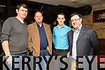 At the Kerry Assoc London and Tralee Chamber Alliance informal networking event at the Abbey Inn on Saturday were Brian Kissane,  O'Carroll engineering killarney, John Looney, O'Carroll engineering killarney, Declan sugrue 3d designs killarney, John Drummey, Tralee Chamber Alliance
