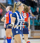 ROTTERDAM  - NK Reserve Hoofdklasse  Zaalhockey . SCHC D2 - HDM D2  (2-2, HDM wint shoot-outs) .  Beijen. COPYRIGHT KOEN SUYK