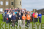 GOLFERS: Members of Ballyheigue Golf Club and fellow golf club showed their support for the captain of Ballyheigue Golf Club on Sunday morning for the Captain Drive.....
