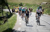 Johan Esteban Chaves (COL/ORICA-Scott) & Emanuel Buchmann (DEU/Bora - Hansgrohe)<br /> <br /> stage 7: Aoste > Alpe d'Huez (168km)<br /> 69th Critérium du Dauphiné 2017