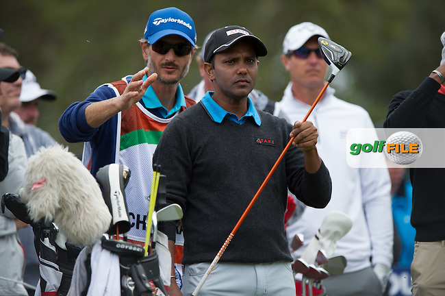 SSP Chawrasis (IND) during round 1 at the ISPS Handa World Cup of Golf, from Kingston heath Golf Club, Melbourne Australia. 24/11/2016<br /> Picture: Golffile | Anthony Powter<br /> <br /> <br /> All photo usage must carry mandatory copyright credit (&copy; Golffile | Anthony Powter)