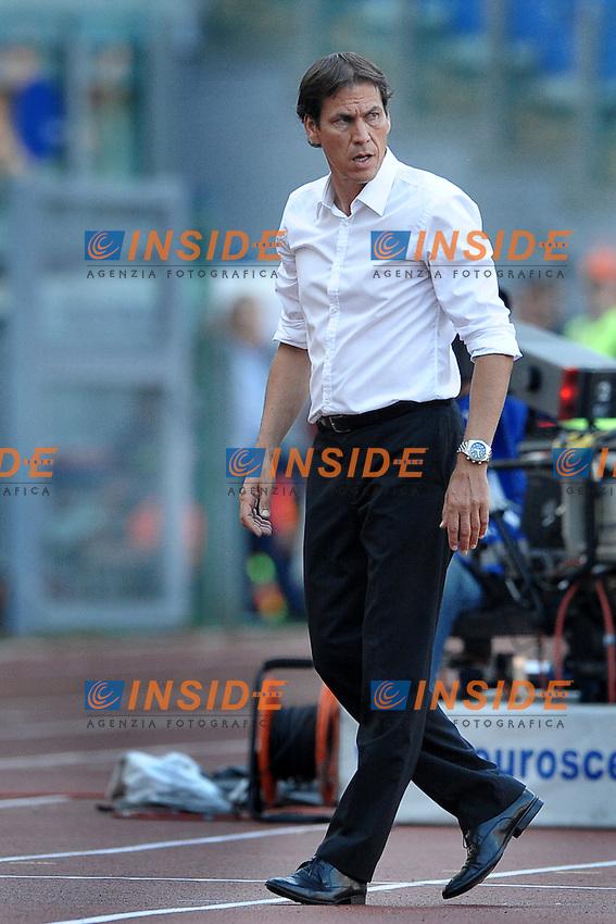 Rudi Garcia, allenatore della Roma<br /> Roma 1-09-2013 Stadio Olimpico<br /> Football Calcio 2013/2014 Serie A<br /> Roma vs Hellas Verona 3-0<br /> Foto Antonietta Baldassarre Insidefoto