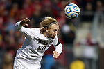 15 December 2013: Notre Dame's Grant Van De Casteele. The University of Maryland Terripans played the University of Notre Dame Fighting Irish at PPL Park in Chester, Pennsylvania in a 2013 NCAA Division I Men's College Cup championship match. Notre Dame won the game 2-1.