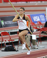 Tara Diebold, <br /> Arkansas Pole Vault<br /> 2011 NCAA DI Outdoor TF Nationals Qualfier<br /> Branson, Missouri<br /> Branson High School
