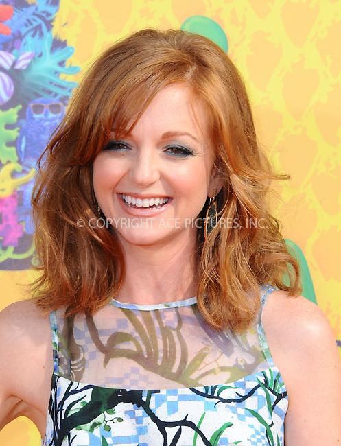 WWW.ACEPIXS.COM<br /> <br /> <br /> March 29,2014, Los Angeles,CA<br /> <br /> <br /> Jayma Mays arriving at Nickelodeon's 27th Annual Kids' Choice Awards held at USC Galen Center on March 29, 2014 in Los Angeles, California.<br /> <br /> <br /> <br /> By Line: Peter West/ACE Pictures<br /> <br /> ACE Pictures, Inc<br /> Tel: 646 769 0430<br /> Email: info@acepixs.com