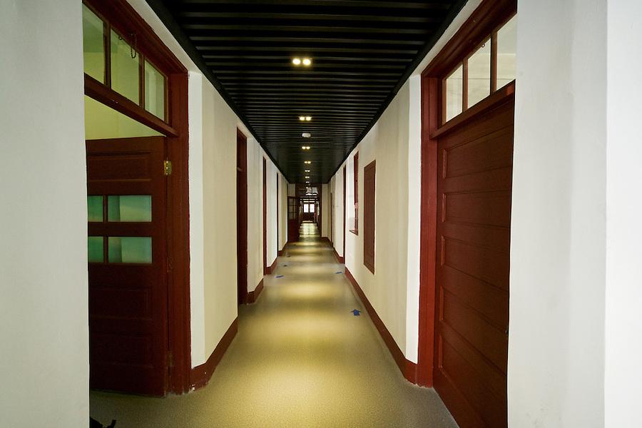 Main Corridor Inside The Shadyside Hospital Museum.