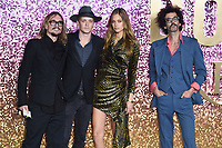"The Darkness<br /> arriving for the ""Bohemian Rhapsody"" World premiere at Wembley Arena, London<br /> <br /> ©Ash Knotek  D3455  23/10/2018"