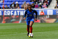 Harrison, NJ - Sunday March 04, 2018: Grace Geyoro during a 2018 SheBelieves Cup match match between the women's national teams of the United States (USA) and France (FRA) at Red Bull Arena.