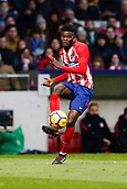 2nd December 2017, Wanda Metropolitano, Madrid, Spain; La Liga football, Atletico Madrid versus Real Sociedad; Thomas Teye Partey (5) Atletico de Madrid's player