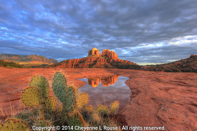 Ma Nature Delivers - Sedona, Arizona<br />