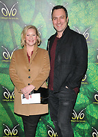 Joanna Page and James Thornton at the OVO by Cirque du Soleil press night, Royal Albert Hall, Kensington Gore, London, England, UK, on Wednesday 10 January 2018.<br /> CAP/CAN<br /> &copy;CAN/Capital Pictures