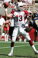 Tempe, ARZ. September 18, 2005.Kurt Warner  In an NFL game played at Sun Devil Stadium where the St Louis Rams defeated the Arizona Cardinals 17-12