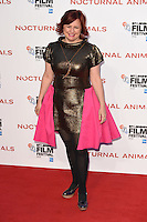 "Clare Stewart<br /> at the London Film Festival 2016 premiere of ""Nocturnal Animals"" at the Odeon Leicester Square, London.<br /> <br /> <br /> ©Ash Knotek  D3179  14/10/2016"
