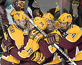 Ryan Potulny, Danny Irmen, Ryan Stoa, PJ Atherton - The University of Minnesota Golden Gophers defeated the University of North Dakota Fighting Sioux 4-3 on Friday, December 9, 2005, at Ralph Engelstad Arena in Grand Forks, North Dakota.