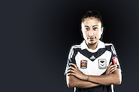 Gülcan Koca is probably one of the most versatile players in the Melbourne Victory team, being able to play in all outfield positions. She can mostly be found on the right flank this season though, teaming up with good friend Enza Barilla to great effect. Unflappable on the ball and with great technical ability, she possesses both an attacking threat as well as defensive nous. //  The 22 year old has been capped by Turkey on numerous occasions, but calls Melbourne home and plays for Bundoora United in the Victorian WPL. //  (Copyright Photo Sydney Low. Text Zee Ko)