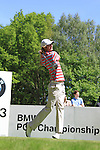 Chris Wood teeing of on the third.during round three of the BMW PGA championship 2010 at Wentworth golf club, Surrey England..Picture Fran Caffrey/Newsfile.ie