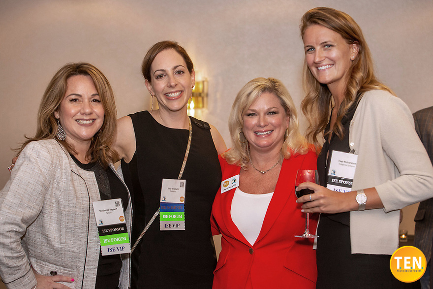 T.E.N. and Marci McCarthy hosted the ISE® West Executive Forum and Awards 2019 at at the Westin St. Francis in San Francisco, CA of August 22, 2019.<br /> <br /> Visit us today and learn more about T.E.N. and the annual ISE Awards at http://www.ten-inc.com.<br /> <br /> Please note: All ISE and T.E.N. logos are registered trademarks or registered trademarks of Tech Exec Networks in the US and/or other countries. All images are protected under international and domestic copyright laws. For more information about the images and copyright information, please contact info@momentacreative.com.