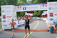 PHILLY TRI Day One: Run Finish