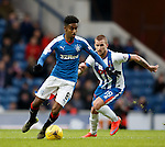 Gedion Zelalem turns past Craig Slater