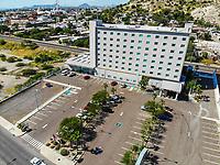 Hampton Inn by Hilton Hermosillo .<br /> Paisaje urbano, paisaje de la ciudad de Hermosillo, Sonora, Mexico. Hotel Hilton en el vado del Rio. <br /> Urban landscape, landscape of the city of Hermosillo, Sonora, Mexico.<br /> (Photo: Luis Gutierrez /NortePhoto)