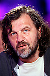 Emir Kusturica posing during a portrait session in Paris, France on May 2011. Photo by VIM/ABACAPRESS.COM  | 280381_002