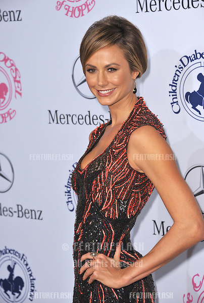 Stacy Keibler at the 26th Carousel of Hope Gala at the Beverly Hilton Hotel..October 20, 2012  Beverly Hills, CA.Picture: Paul Smith / Featureflash