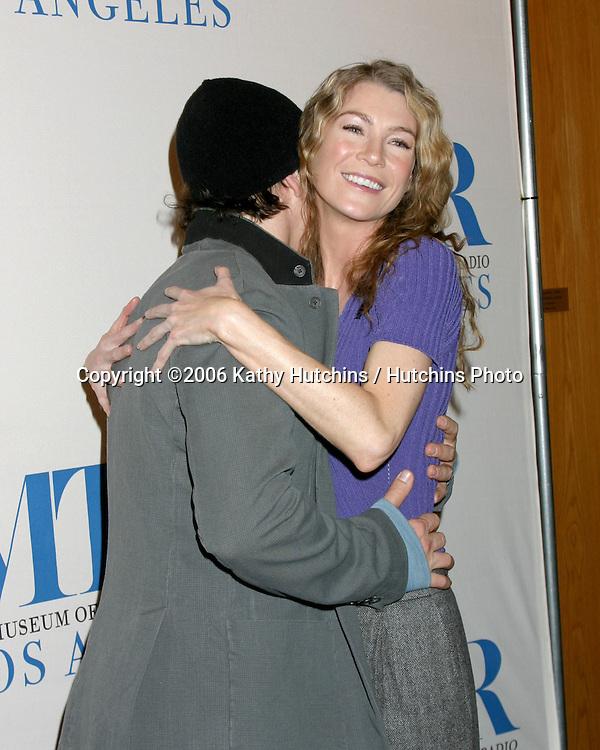 TR Knight .Ellen Pompeo.Grey's Anatomy .Museum of TV & Radio Paley Festival.Directors Guild of America.Los Angeles, CA.February 28, 2006.©2006 Kathy Hutchins / Hutchins Photo....