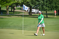 Jane Park (USA) approaches her ball on 2 during round 3 of the 2018 KPMG Women's PGA Championship, Kemper Lakes Golf Club, at Kildeer, Illinois, USA. 6/30/2018.<br /> Picture: Golffile | Ken Murray<br /> <br /> All photo usage must carry mandatory copyright credit (&copy; Golffile | Ken Murray)