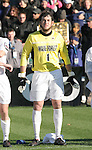 16 December 2007: Wake Forest's Brian Edwards. The Wake Forest University Demon Deacons defeated the Ohio State Buckeyes 2-1 at SAS Stadium in Cary, North Carolina in the NCAA Division I Mens College Cup championship game.