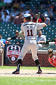 Connor McKay during the 2010 Under Armour All-American Game powered by Baseball Factory at Wrigley Field in Chicago, Illinois on August 14, 2010.  (Copyright Mike Janes Photography)