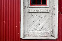 Grain Silo Door, Prallsville Mills, Stockton, New Jersey