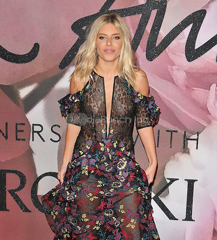 Mollie King at the Fashion Awards 2016, Royal Albert Hall, Kensington Gore, London, England, UK, on Monday 05 December 2016. <br /> CAP/CAN<br /> ©CAN/Capital Pictures /MediaPunch ***NORTH AND SOUTH AMERICAS ONLY***