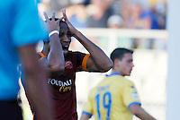 Seydou Keita  durante l'incontro di calcio di Serie A   Frosinone - Roma   allo  Stadio Matusa di   di Frosinone ,12  Settembre 2015