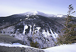 View of Old Speck mountain from Table Rock in Grafton Notch State Park, Grafton Township, Maine, USA