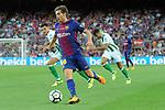 League Santander 2017/2018. Game: 01.<br /> FC Barcelona vs Real Betis: 2-0.<br /> Sergi Roberto.