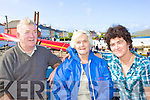 Paul, Peg & Ann O'Donoghue enjoying the fine weather at the Portmagee Regatta.