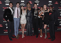 "WEST HOLLYWOOD, CA - OCTOBER 13, 2016:   Staz Nair, Ryan McCartan, Victoria Justice, Laverne Cox, Reeve Carney, Christina Milian, Ivy Levan and Ben Vereen at the red carpet premiere of Fox's ""The Rock Horror Picture Show: Lets Do the Time Warp Again"" at The Roxy on October 13, 2016 in West Hollywood, California. Credit: mpi991/MediaPunch"