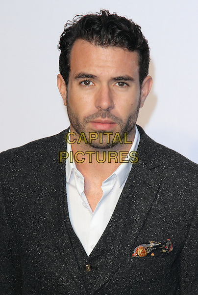 Tom Cullen<br /> UK Premiere of 'Blue Jasmine' at the Odeon West End, Leicester Square. London, England.<br /> 17th September 2013<br /> headshot portrait black grey gray suit white shirt stubble facial hair <br /> CAP/ROS<br /> &copy;Steve Ross/Capital Pictures