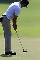 Rafa Cabrera Bello (ESP) putts on the 15th green during Friday's Round 2 of the 2017 PGA Championship held at Quail Hollow Golf Club, Charlotte, North Carolina, USA. 11th August 2017.<br /> Picture: Eoin Clarke | Golffile<br /> <br /> <br /> All photos usage must carry mandatory copyright credit (&copy; Golffile | Eoin Clarke)